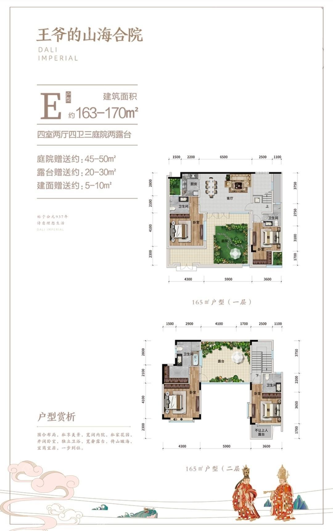 华侨城项目户型图
