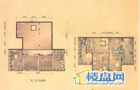 E1三区独栋户型, 独栋别墅, 建筑面积约368.00平米