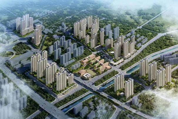 中国中铁诺德城效果图