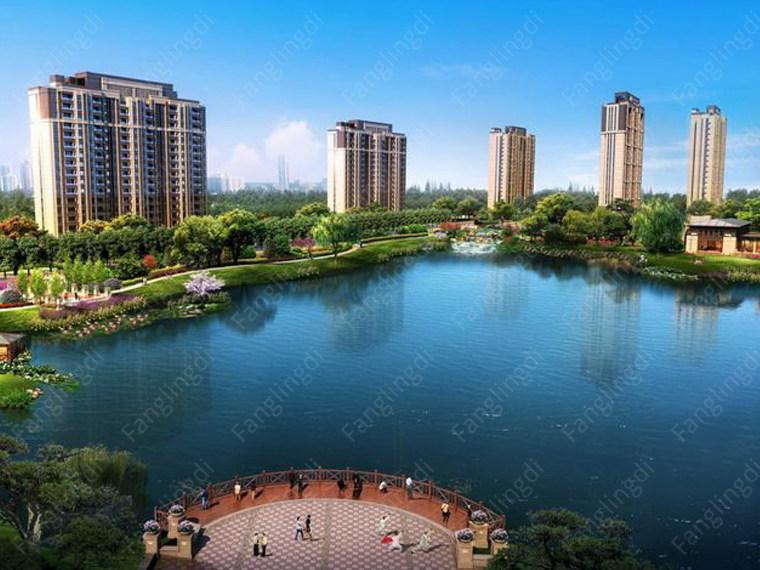 孔雀城湖韵澜湾效果图